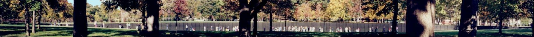 Vietnam Veteran's Memorial Panorama ~ Washington, D.C.