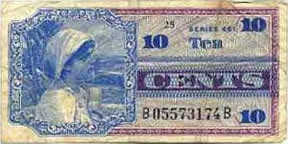 10 Cent Military Payment Certificate